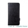 Leiers Domi Cat Series Stand Leather Cover w/ Strap for Samsung Galaxy E5