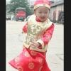 ชุดจีนเด็กชาย(ชุดฮองเต้เด็ก) 3ชิ้น เสื้อ- เสื้อกั๊กสีทอง - หมวก