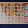 ตัวปั๊ม ABC หลากสี (Wooden Alphabet & Number Fancy Stamper)