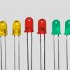 LED ขนาด 3 มิล ชนิดตัวสี 15 องศา (ถุงละ 100 ตัว)