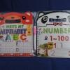 สมุดไวท์บอร์ด เขียน และ ลบได้ (Panda Mini Whyteboard Book)