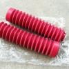 ยางหุ้มโช๊ค XL100 XL125 MTX สีแดง เทียม งานใหม่