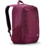 """CASE LOGIC - 15.6"""" Laptop + Tablet Backpack (รหัสรุ่น WMBP-115) สีชมพูแดง"""