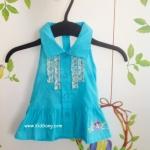 เสื้อเด็กคล้องคอสีฟ้า Minnie ไซส์ 1Y