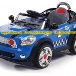 mini cooper รถมินิคูเปอร์คันใหญ่ สีฟ้า