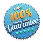 การรับประกันความพอใจคืนเงิน 100% ใน 3 วัน (นโยบายการรับประกันและการคืนสินค้า ใหม่)