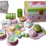 ชุดขนมญี่ปุ่น ชาเขียว Japanese Box Set  Mother Garden มีหูหิ้ว