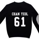 เสื้อ EXO SBS Inkigayo Black / Chanyeol