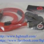 หุฟัง BEAT by Dr.Dre สายแบน - ดำ แดง