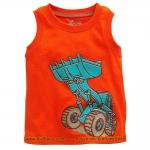 เสื้อกล้ามเด็ก ลาย Truck6 ไซส์ 2,6ปี