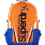 Super Dry - Tarp Pop Backpack Orange/royal Blue