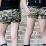 กางเกงขาสั้นลายทหาร ไซส์ 7-9-11-13-15