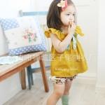 เสื้อผ้าเด็ก แขนระบาย โบระบาย ไซส์ 7,13