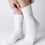 ถุงเท้าบำบัด(สีขาว) แนะนำผู้ที่เป็นเบาหวานเท้าชา เท้าบวม ปวดข้อเท้า และฝ่าเท้า ผู้ที่บาดเจ็บบริเวณเท้า เป็นรองช้ำ เท้ามีกลิ่นเหม็น