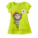 เสื้อเด็กเนื้อนิ่ม ลายMonkey ไซส์ 4,5 ปี