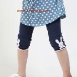 กางเกงเด็ก(เลคกิ้งกระต่ายเล็ก) หมายเลข3ไซส์ 100