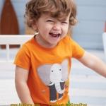 เสื้อเด็กเนื้อนิ่ม ลาย ช้าง ไซส์ 18-24ด,2,4,5,6 ปี