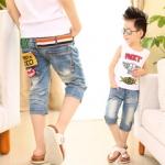 กางเกงยีนส์เด็กชาย มีขนาด100-110-120-130-140 ค่ะ