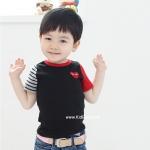 เสื้อผ้าเด็ก PLaY ดำกรมท่า (CI & SI)ไซส์ 90,100