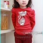 ชุดเด็กหญิงลาย Red_Catty ไซส์ 100,110