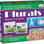 Creative's ของเล่นเสริมทักษะ ชุด creative Plurals - Regular and Irregular