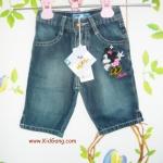 กางเกงยีนส์เด็กMinnie ไซส์ 1,3Y