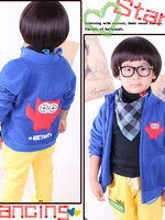 Huanzhu kids เสื้อแจ็คเก็ต เห่ห์ๆ สไตล์เกาหลี
