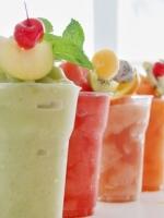 รับออกบูธ สมูทตี้ (smoothies) น้ำผลไม้ปั่น น้ำผลไม้เพื่อสุขภาพ