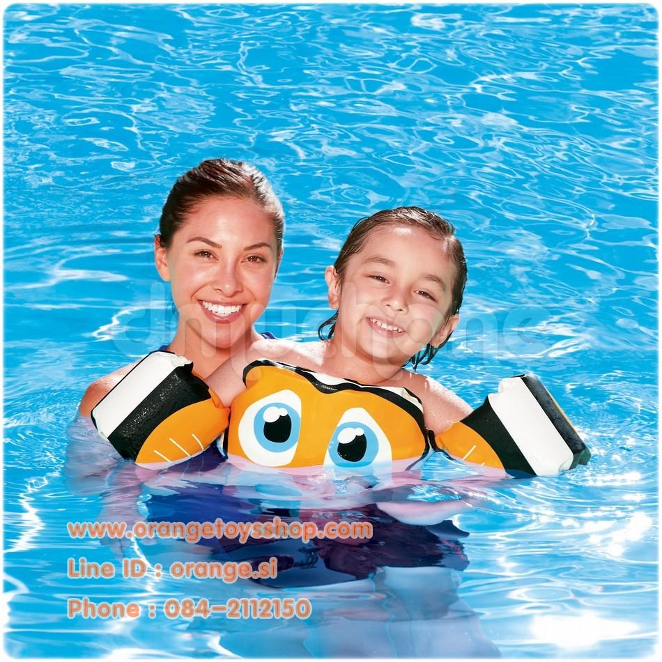 หีเด็ก10ขวบ Swim start trainer ห่วงยาง ชูชีพ สำหรับฝึกว่ายน้ำ bestway 32112