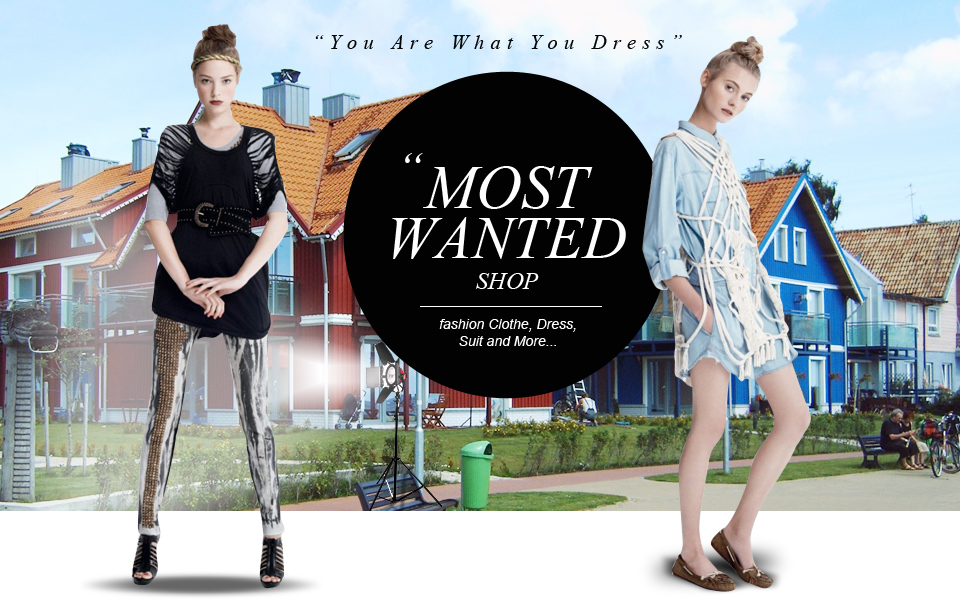 Most Wanted Shop (You Are What You Dress)