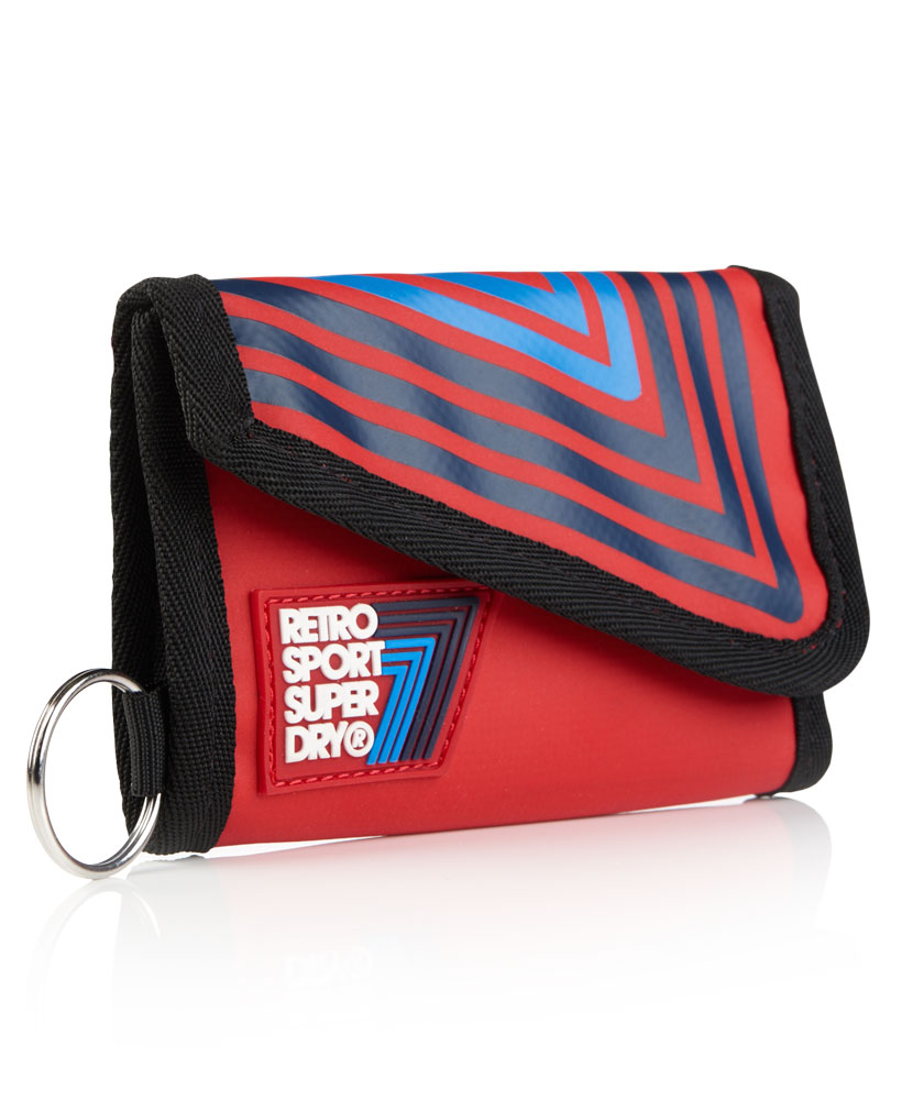 Superdry - Retro Sport No.7 ทรงตั้ง สีแดง