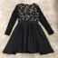 พร้อมส่ง Mini dress แขนยาวทรงคอวี thumbnail 5
