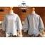 เสื้อเกาหลี ผ้าแก้ว ทรงแขนพอง พร้อมส่ง thumbnail 8