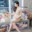 เดรสเกาหลี พร้อมส่ง Dress ลูกไม้เอวระบาย thumbnail 6