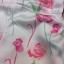 พร้อมส่ง Jumpsuit สั้นสีขาว แต่งลายดอกไม้ thumbnail 9