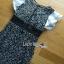 พร้อมส่ง เดรสผ้าลูกไม้ทอลายดอกเดซี่แขนระบาย thumbnail 7