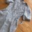 เดรสลูกไม้ พร้อมส่ง เดรสผ้าลูกไม้ สีเทาอ่อน thumbnail 9