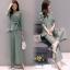 เสื้อผ้าเกาหลี พร้อมส่ง ชุดเซท เสื้อ+กางเกง thumbnail 6