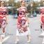 ชุดเดรสเกาหลี พร้อมส่ง Maxi Dress ปัก thumbnail 1
