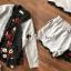 เสื้อผ้าเกาหลี พร้อมส่ง เสื้อสูทกุ๊นขอบผ้าลูกไม้ thumbnail 4