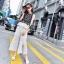 เสื้อเกาหลีแขนกุด+กางเกงขายาว พร้อมส่ง thumbnail 12