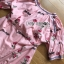 เสื้อเกาหลี พร้อมส่ง เสื้อผ้าคอตตอนปักลายดอกกุหลาบ thumbnail 12