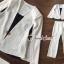 เสื้อผ้าเกาหลี พร้อมส่ง เสือคลุมกับกางเกงขายาว thumbnail 1
