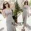 ชุดเดรสเกาหลี Maxi dress ไขว์ด้านหน้า พร้อมส่ง thumbnail 15