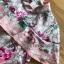 เดรสเกาหลี พร้อมส่ง ชุดเดรส พิมพ์ลายดอกไม้สีชมพู thumbnail 13