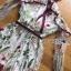 พร้อมส่ง เพลย์สูทผ้าทูลเลปักลายดอกไม้ thumbnail 12