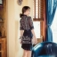 เดรสเกาหลี พร้อมส่ง เดรสสั้น สีดำลุคสวยหรู thumbnail 6