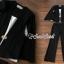 เสื้อผ้าเกาหลี พร้อมส่ง เสือคลุมกับกางเกงขายาว thumbnail 2