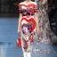 ชุดเดรสเกาหลี พร้อมส่ง Maxi Dress ปัก thumbnail 2