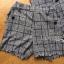พร้อมส่ง เซ็ตเสื้อสูตกระดุมสองแถมและกางเกงขาสั้นพิมพ์ลายฮาวด์สทูธ thumbnail 17